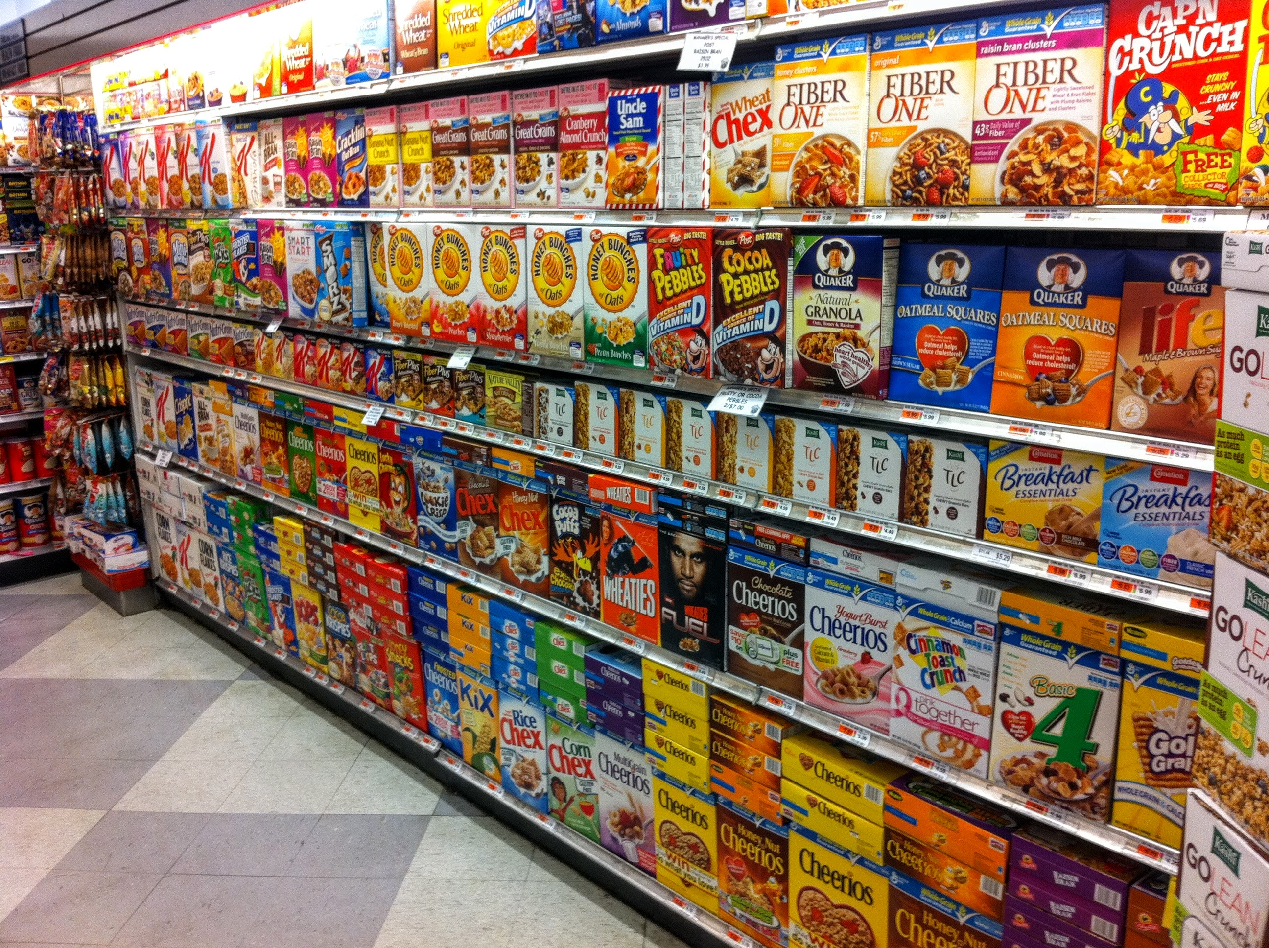 80 Cereals | Kaggle