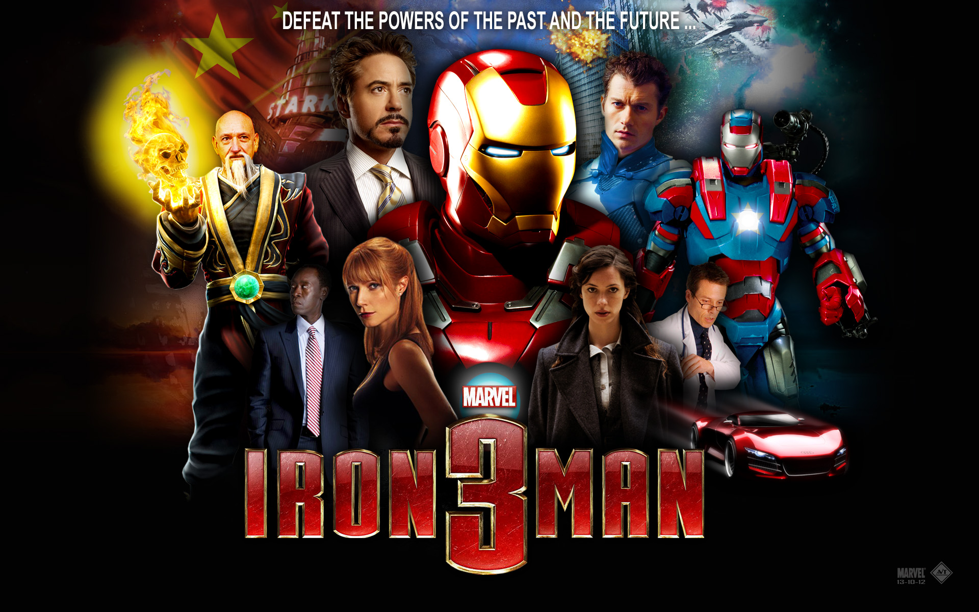 Free iron man 3 live wallpaper 1 apk download for android | getjar.