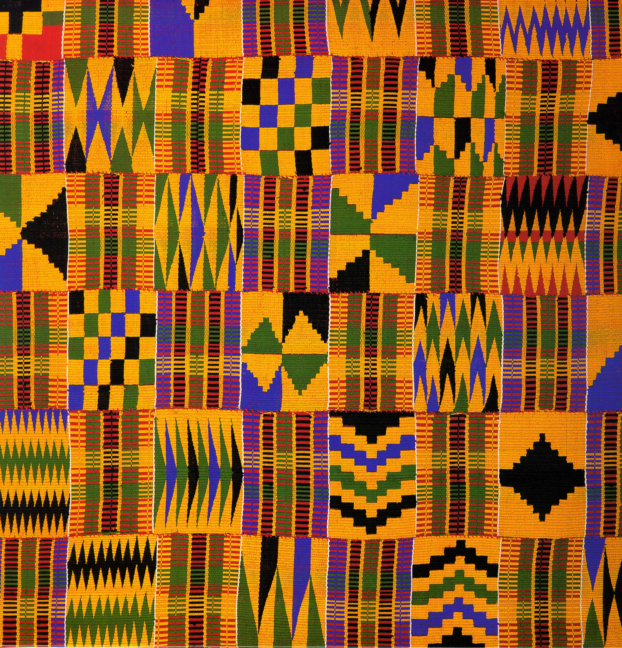 African Fabric Images | Kaggle