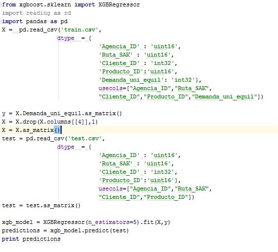 Xgboost memory problem | Kaggle