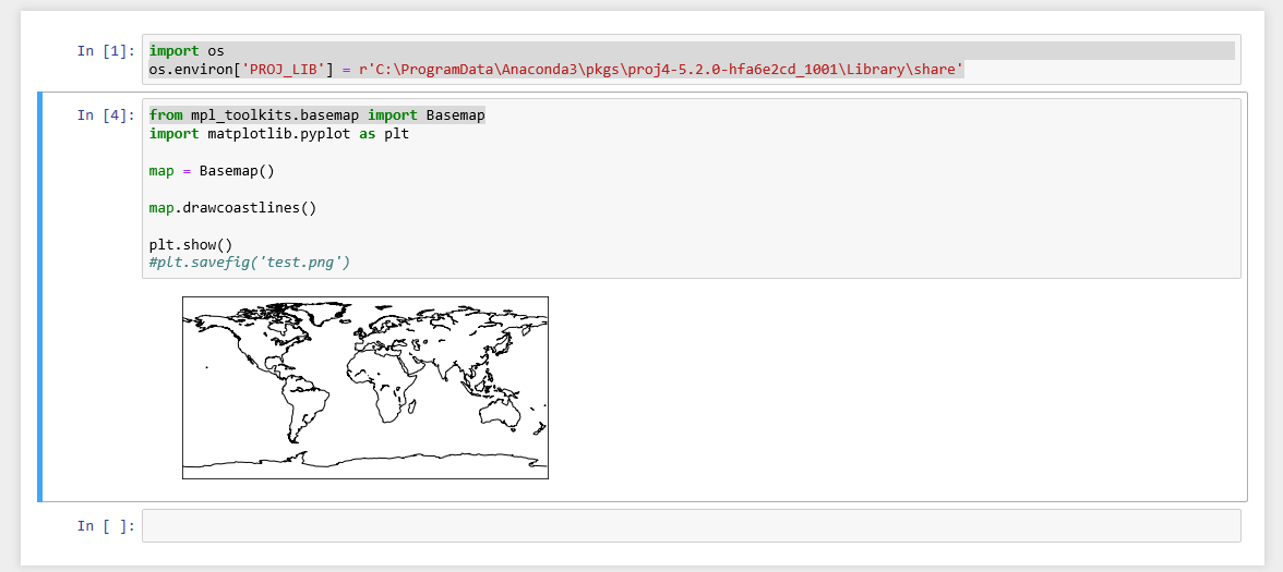 ModuleNotFoundError: No module named 'mpl_toolkits basemap