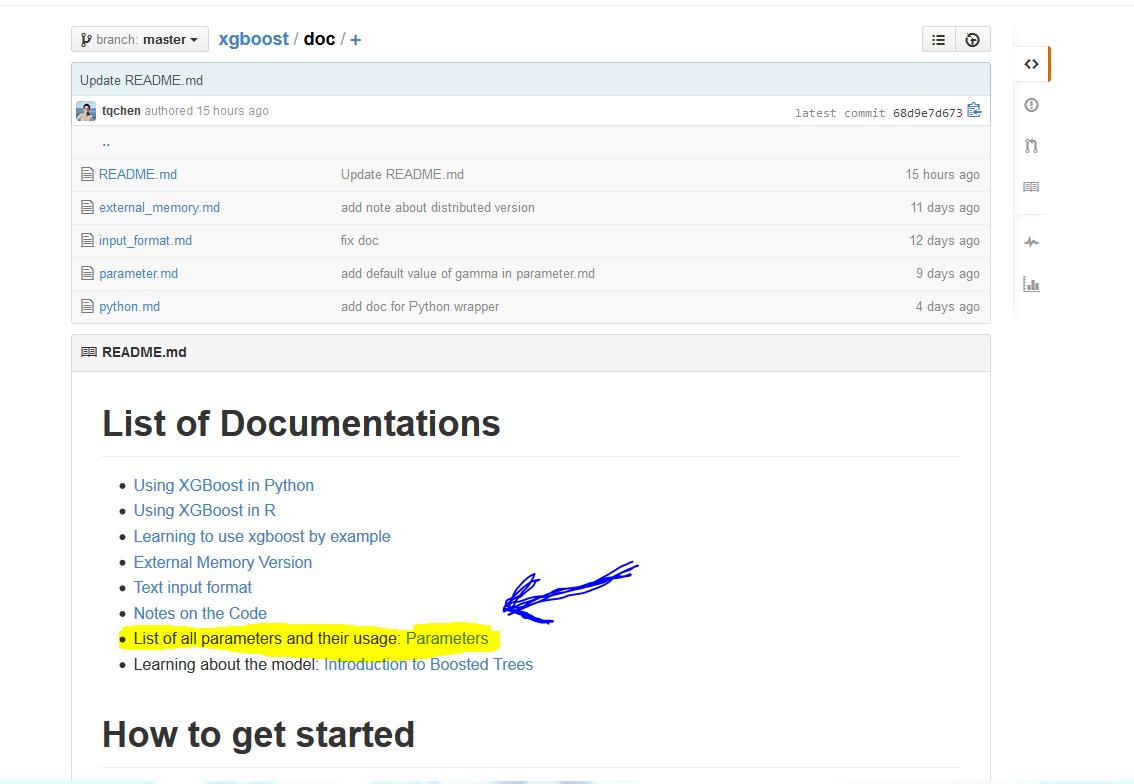 xgboost parameter tuning   Kaggle