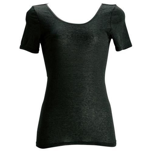 ボーダー半袖シャツ