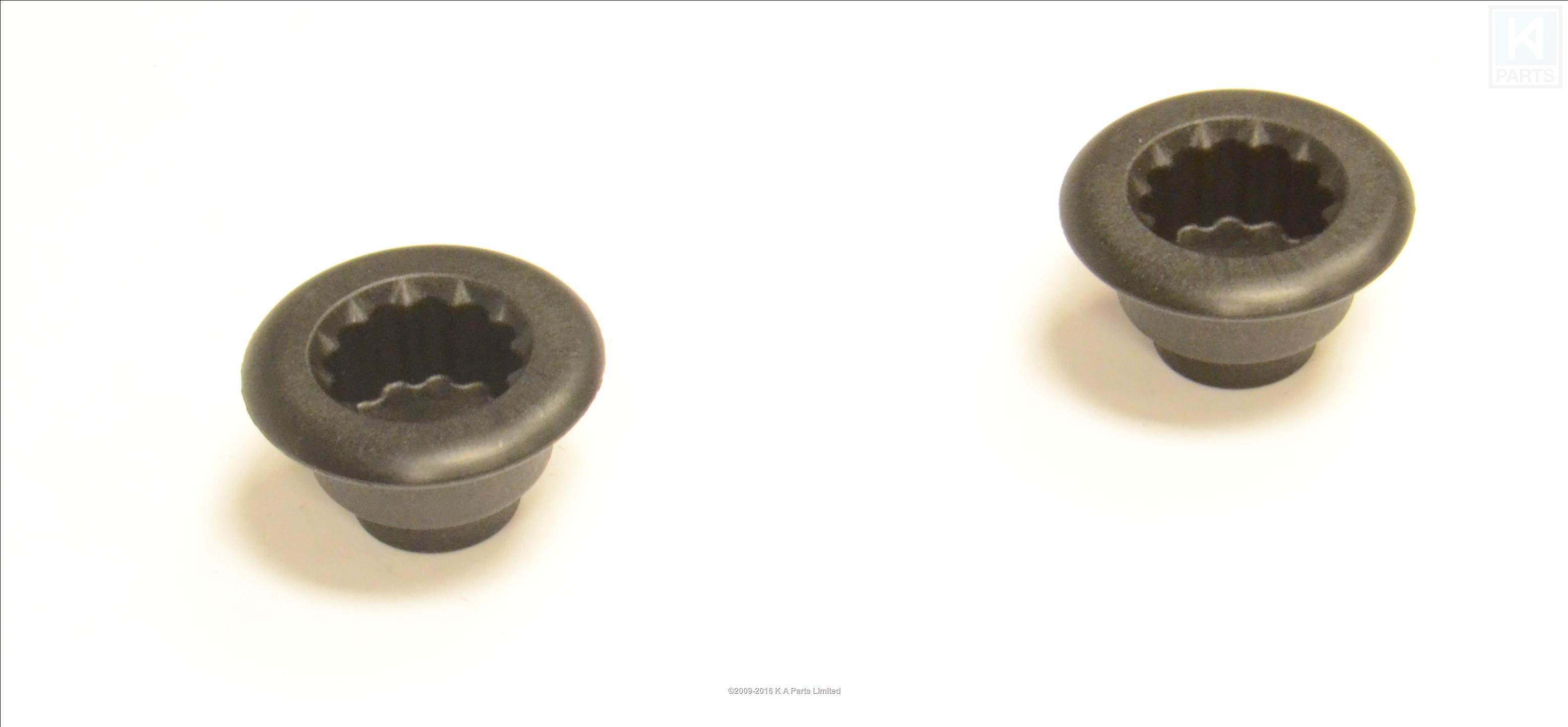 2 x kitchenaid genuine blender rubber clutch coupler w10279256 - Kitchenaid blender parts uk ...
