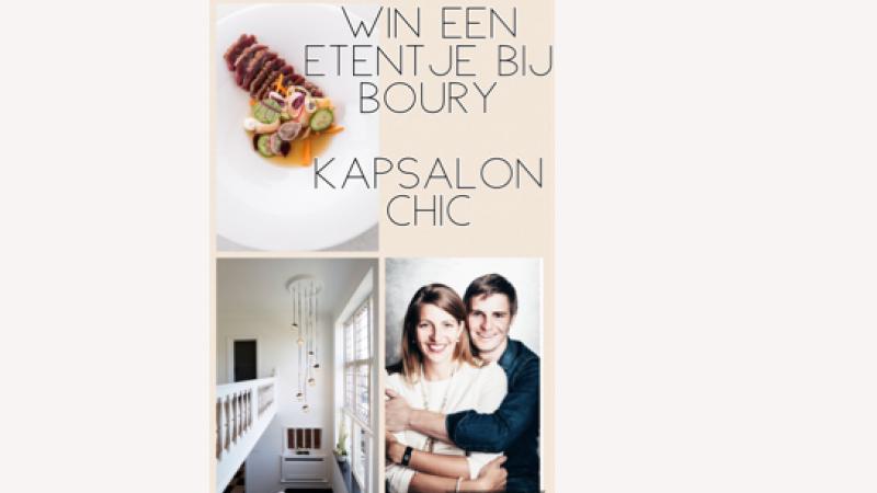 Win een gastronomisch etentje bij BOURY 15