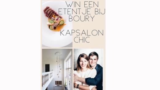 Win een gastronomisch etentje bij BOURY 15 afbeelding