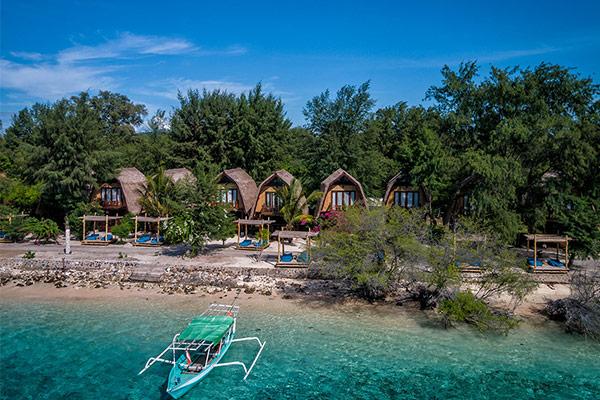 Celebrate the Festive Season at Karma Reef, Gili Meno Island Lombok