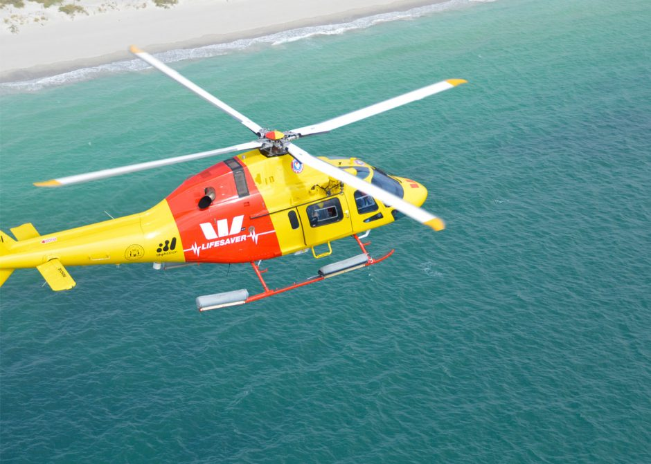 Westpac's Lifesaver Rescue Helicopter – top 6 tips for a super safe Karma Resorts Rottnest Channel Swim