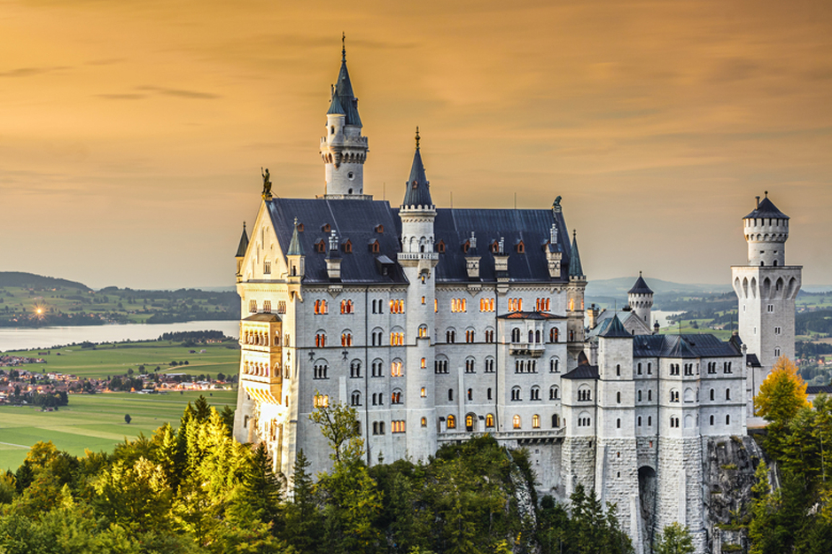 Neuschwanstein Castle Karma Group Bavaria, Germany, Top 5 attractions in Bavaria, Germany