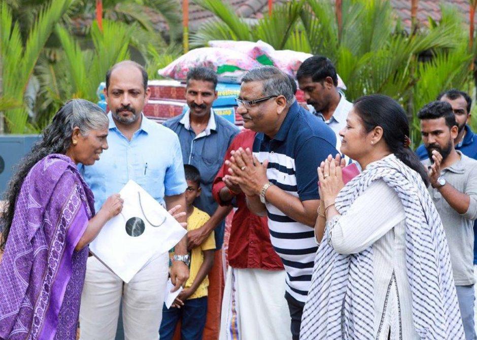 Karma Supports Kerala Flood Victims