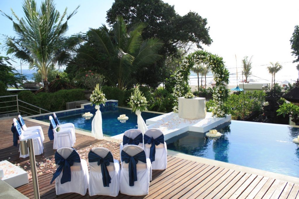 Karma Jimbaran Poolside Wedding