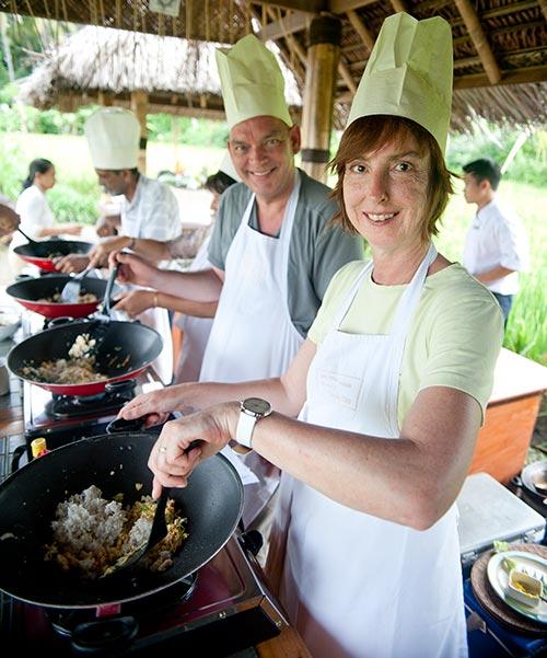 Karma Royal candidasa Cookery School