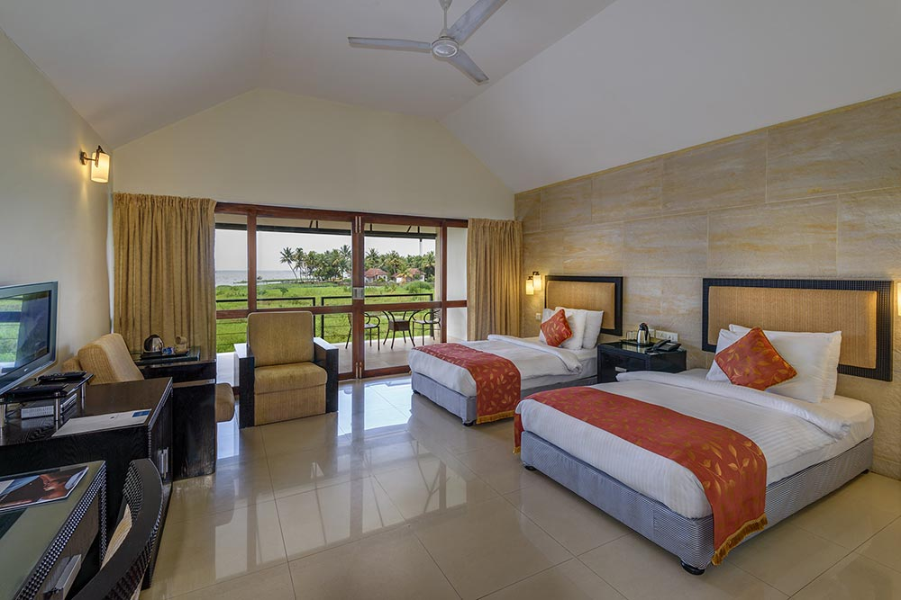 Luxurious Air Conditioned Rooms