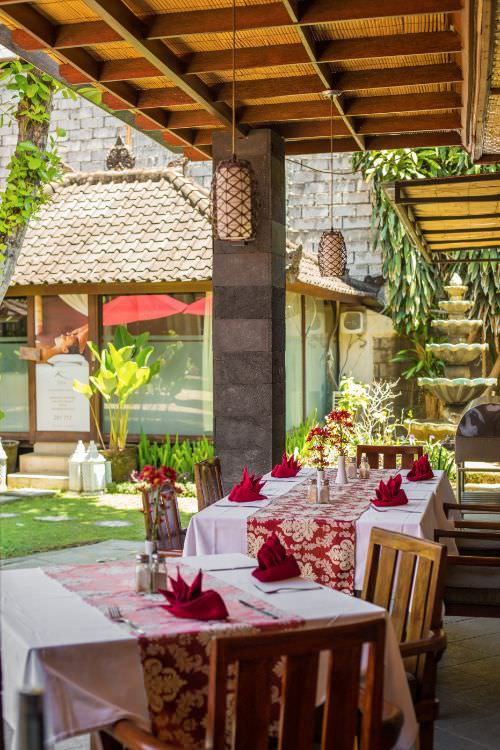 Karma Royal Sanur restaurant