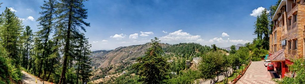 Karma Royal Shimla Scene View