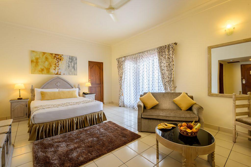 deluxe superior bedroom, karma royal haathi mahal, goa, india
