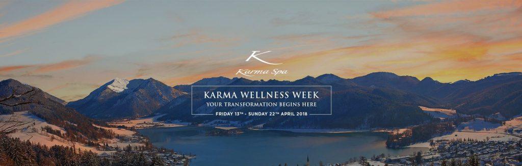 karma wellness week, karma spa