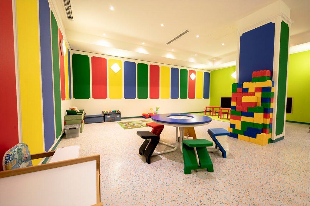 Lego interior of luxury hotel Karma Bavaria