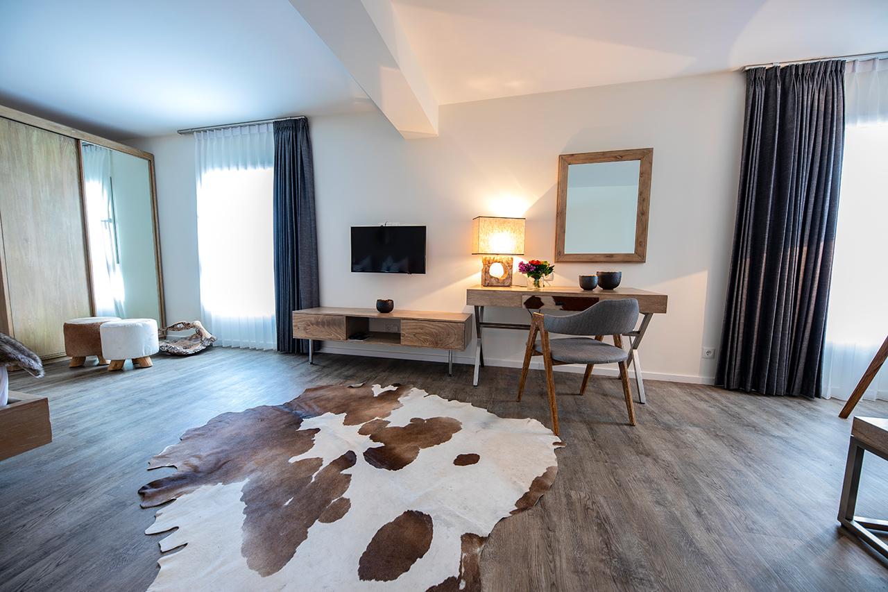 unique and vintage interior of luxury hotel Accommodation Karma Bavaria