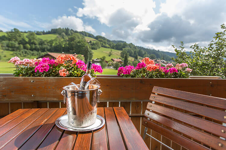 luxury bavaria 5 stars hotels. Germany. with landscape of mountain view