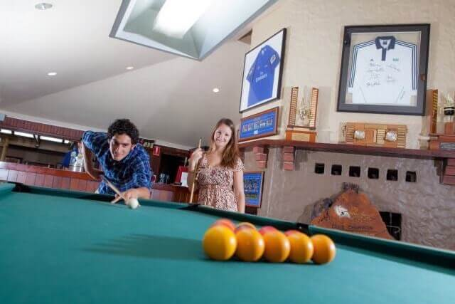 govs sport bar billiard at Luxury Accommodation Rottnest Island
