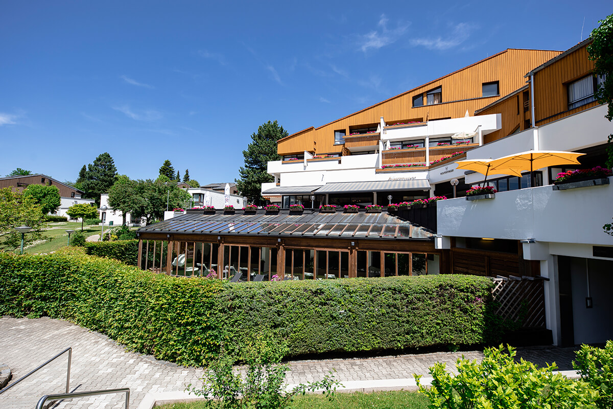 luxury hotel of Karma Bavaria front view