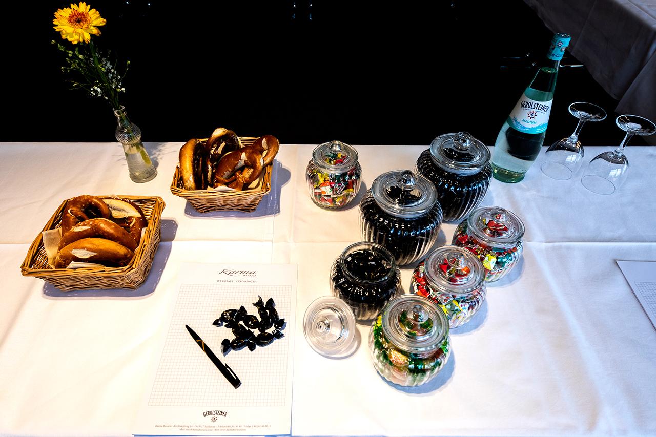 luxury hotel of Karma Bavaria beverage