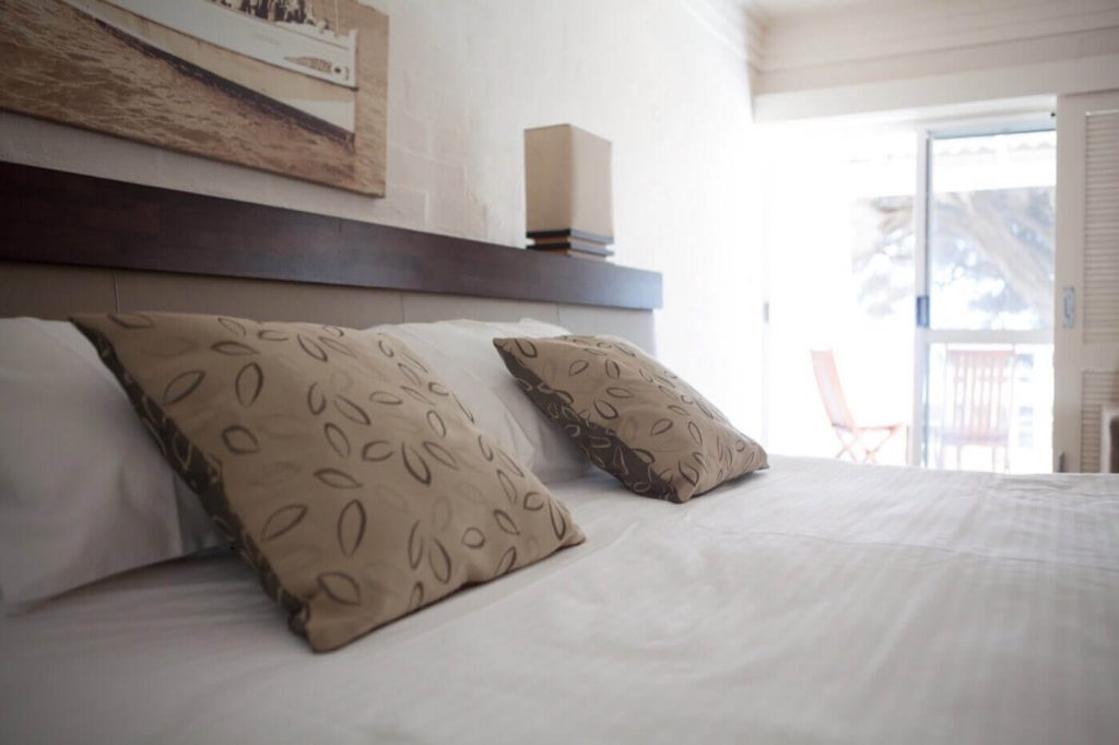 luxury bedroom of Rottnest Island Luxury Accommodation