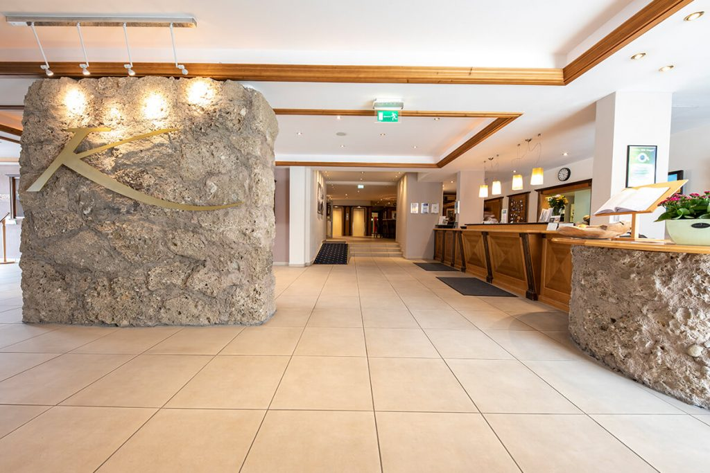Luxury Hotel of Karma Bavaria Reception hall