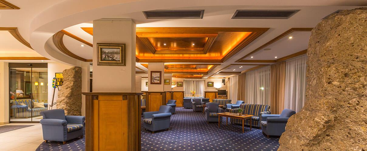 elegant ballroom in luxury hotel of Karma Bavaria