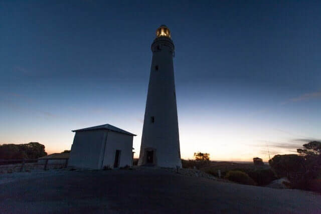 beautiful sunset moment at Rottnest Island Luxury Accommodation of lighthouse