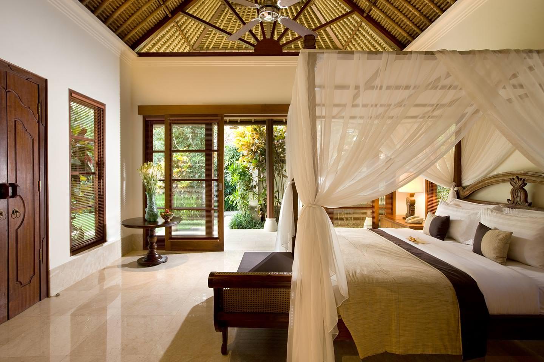 luxury bedroom and elegant living at Luxury resort Jimbaran Bay