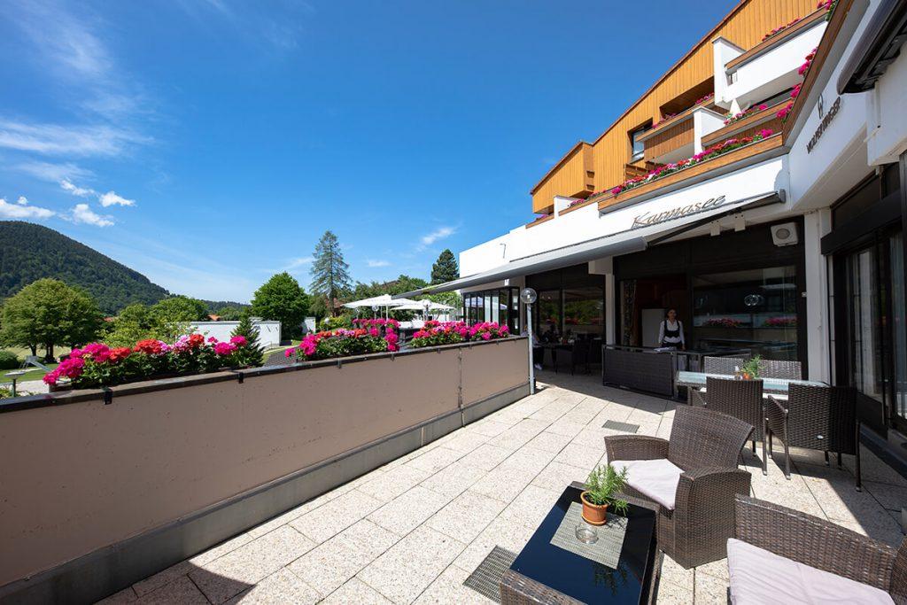 Luxury Hotel of Karma Bavaria second floor view
