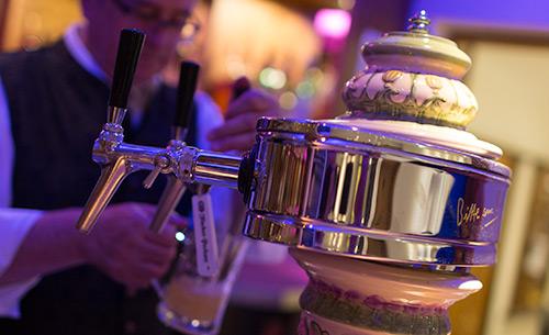 elegant and professional bar at luxury resort of karma bavaria