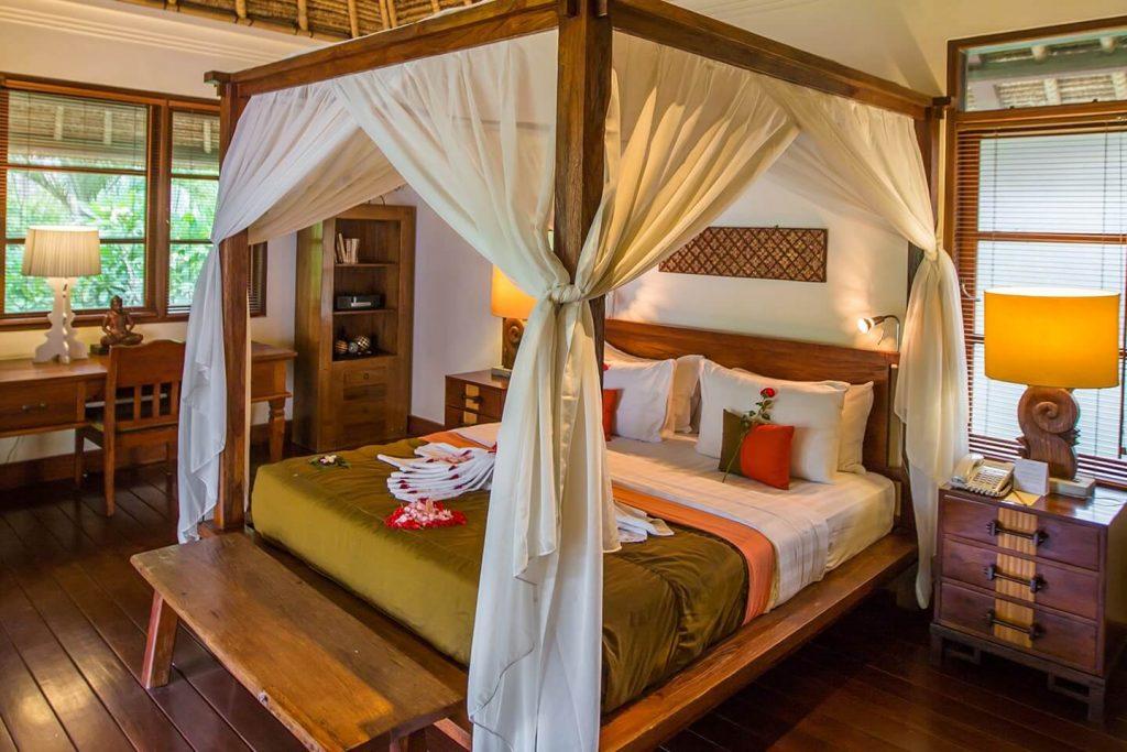 warm and comfort bedroom of Luxury Villa in Jimbaran