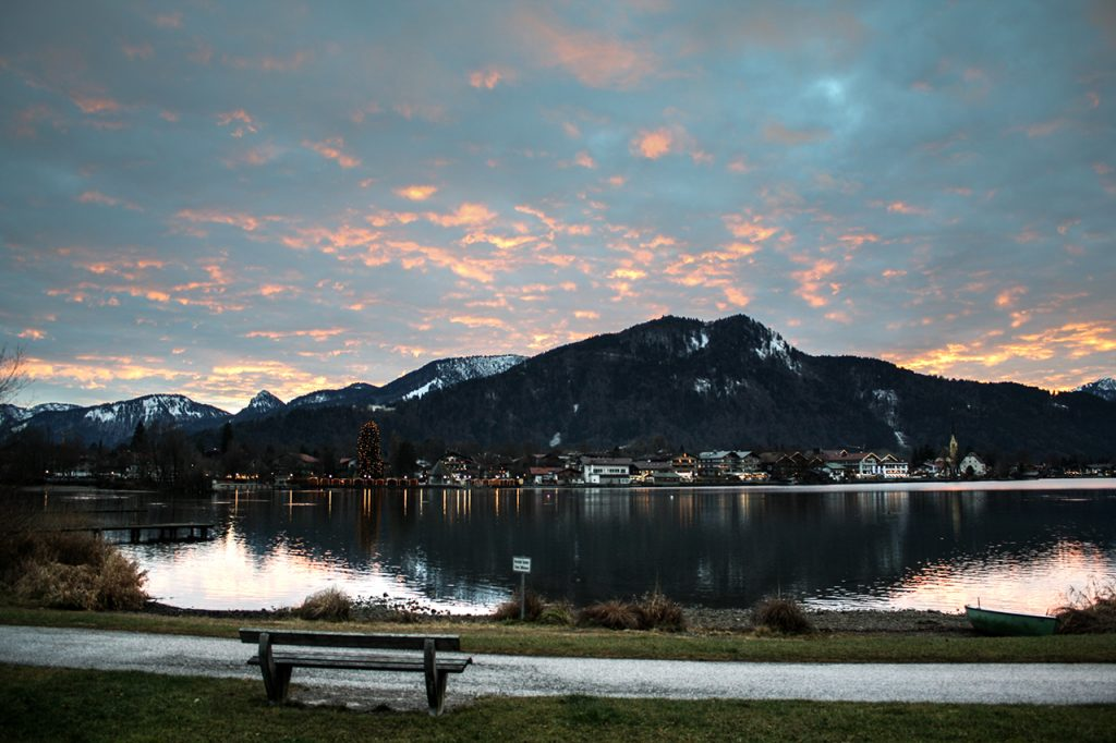 luxury hotel of Karma Bavaria Germany landscape view