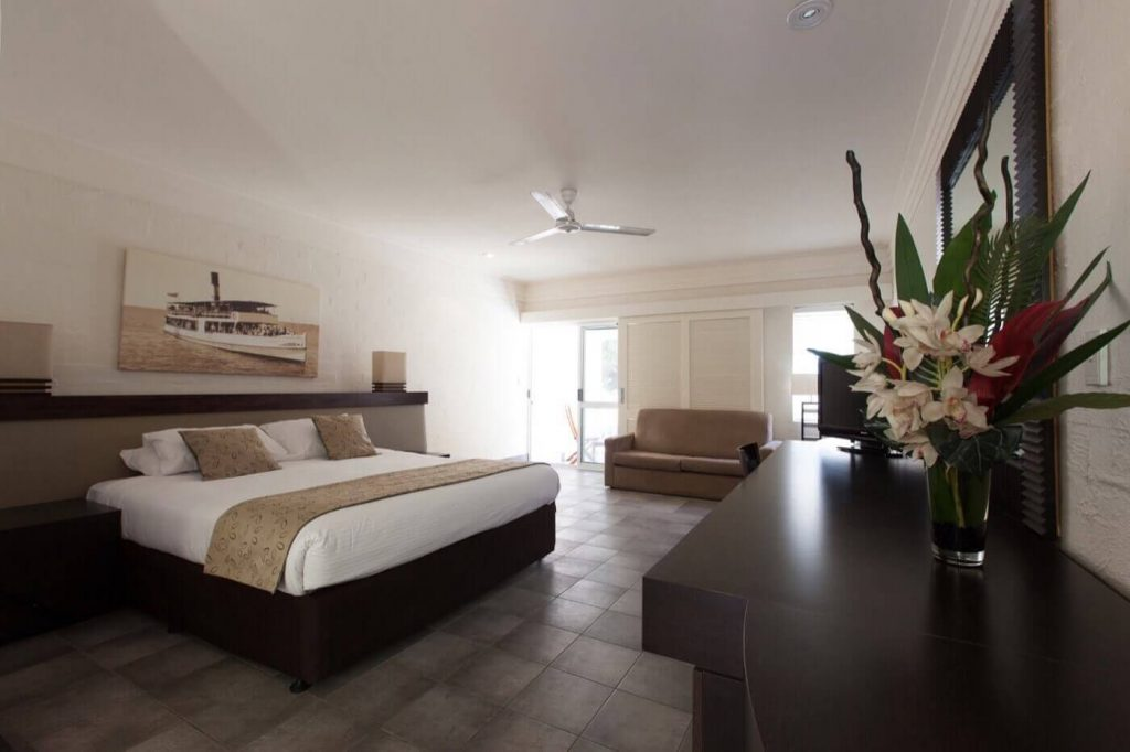 Luxury bedroom of Accommodation Rottnest Island