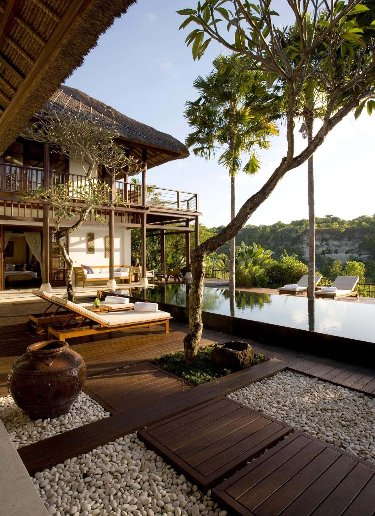 comfort and homey luxury Jimbaran Hotels with valley view