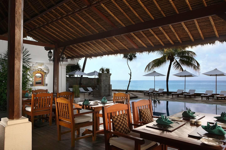 luxury hotel of Karma Royal Candidasa Sea side View