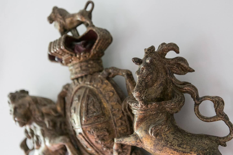 unique horses statue of Le Preverger