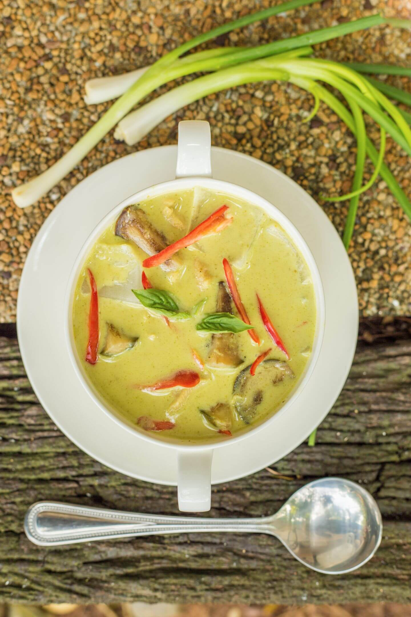 creamy soup of luxury hotel Karma Royal Phuket Cuisine