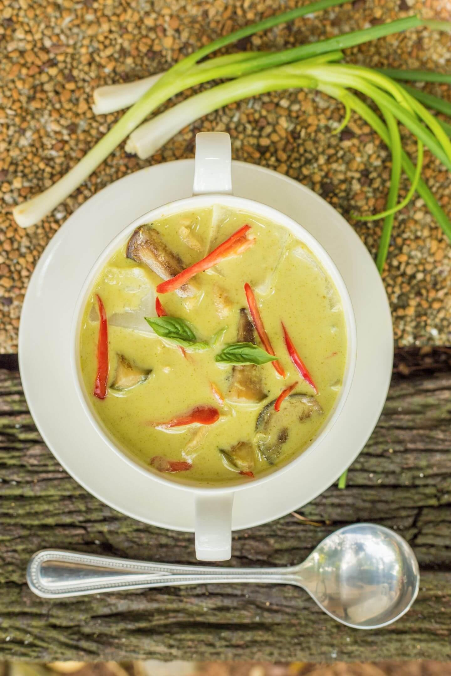 creamy soup of luxury hotel Karma Royal Phuket Cuisine