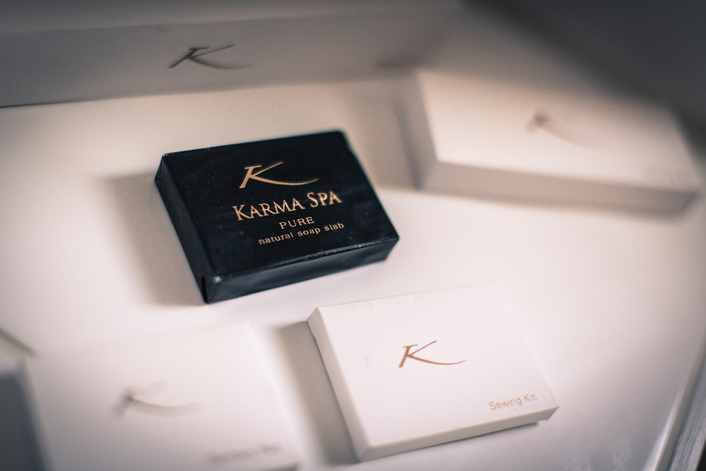 Karma Spa amenities at Karma St. Martin's