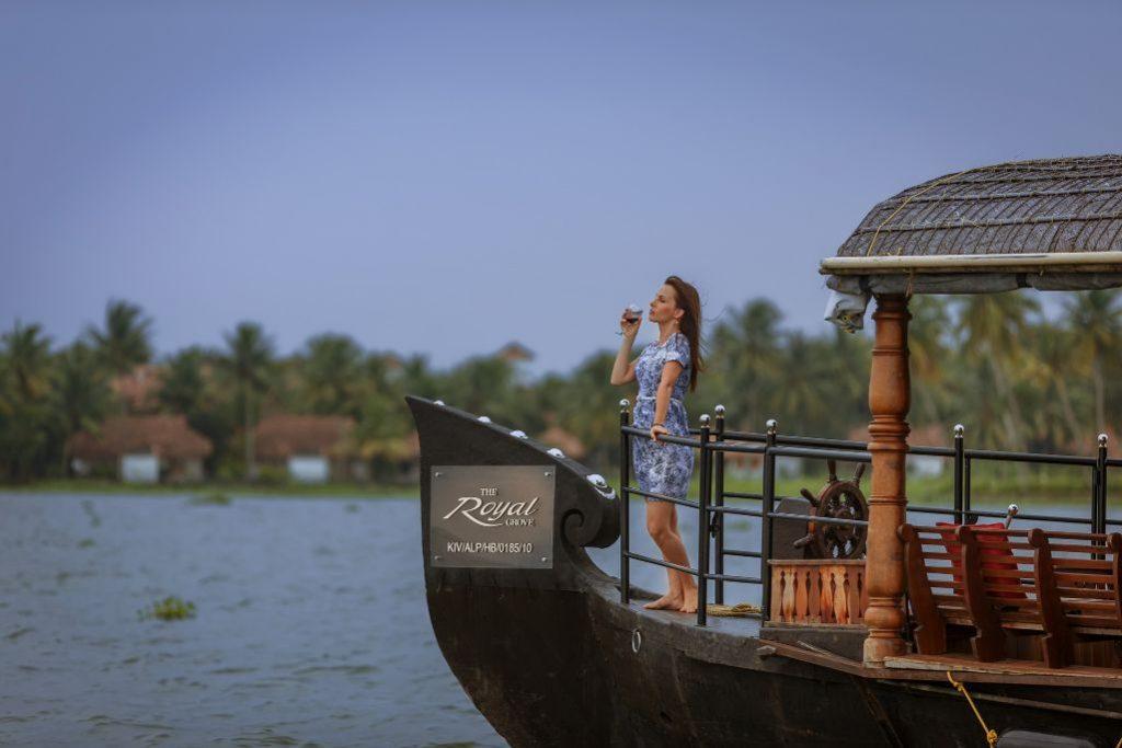 enjoy the moment of luxury Karma Chakra House Boat