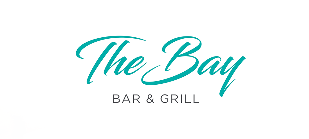 Blue tosca of the bay bar and grill logo