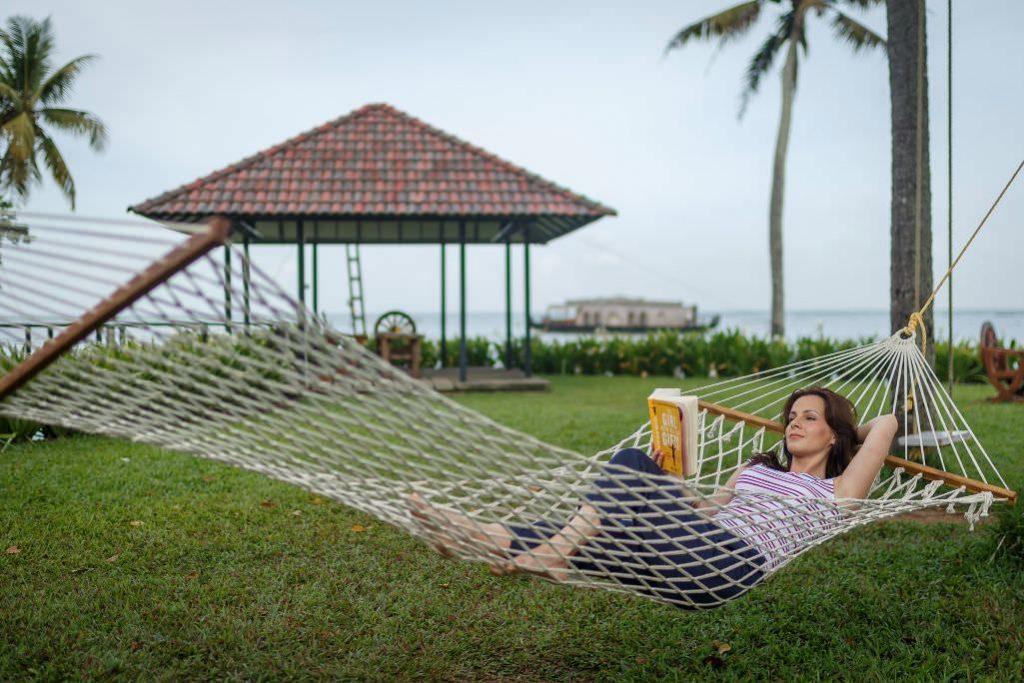 enjoy holiday with hammock accommodation in luxury hotel of karma chakra
