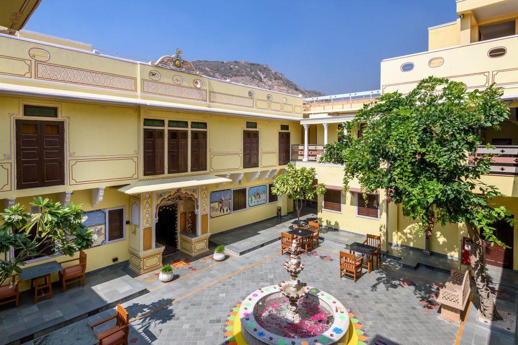 luxury hotel of Karma Haveli, india