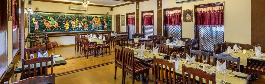 luxury hotel of karma haveli restaurant