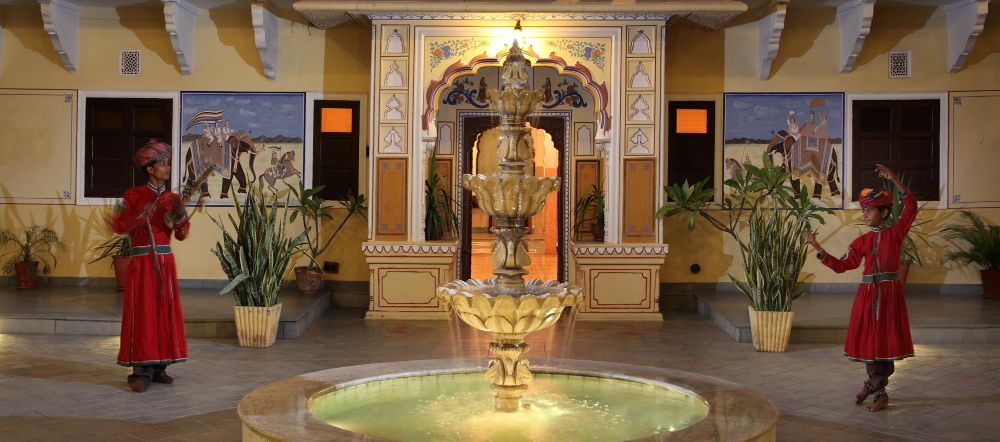 luxury hotel of Karma Haveli