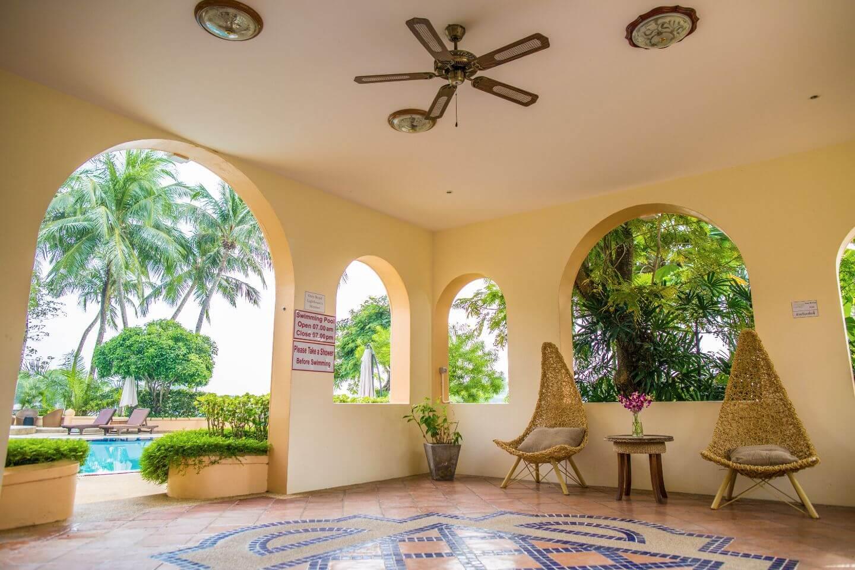 luxury hotel of Karma Royal Phuket Lobby Area